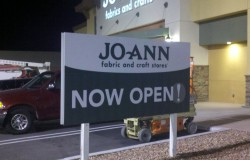 JoAnn's MDO Sign