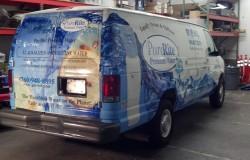Purerite Drinking Water Van Wrap